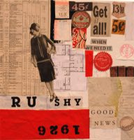 Get It All. Collage.12in x 12 in.