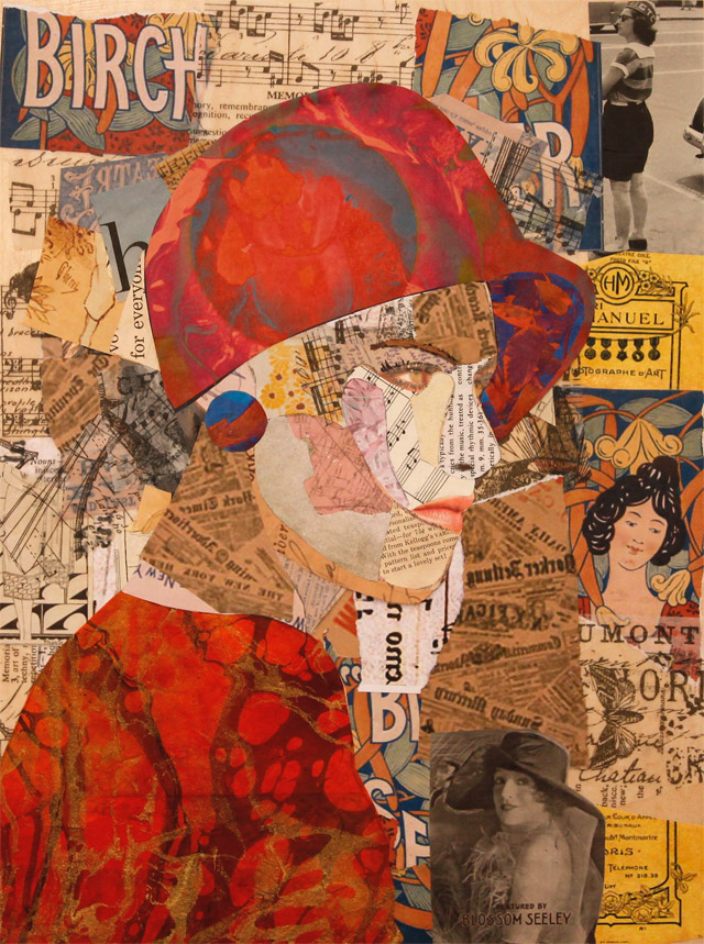 The Lady Gimmel.Collage