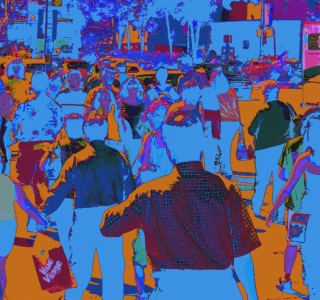 Rush Hour. Digital Image